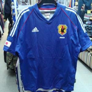 サッカー 日本代表 02-03 ホーム ユニフォーム (L) adidas製