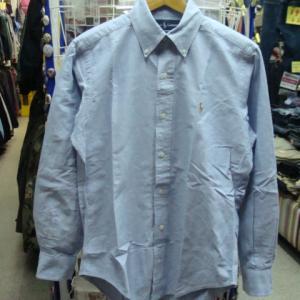 Polo Ralph Lauren ポロラルフローレン 長袖BDシャツ 水色 (S)