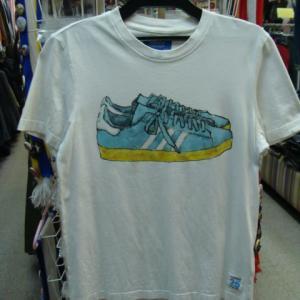 【使用感強め】 adidas originals アディダスオリジナルス 半袖Tシャツ 白 M