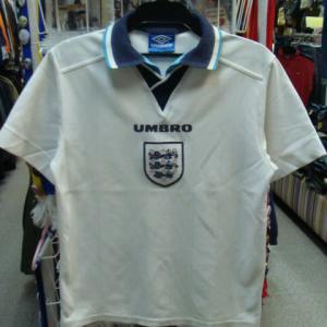 サッカー イングランド代表 ユーロ96 ホーム ユニフォーム (Y) UMBRO製