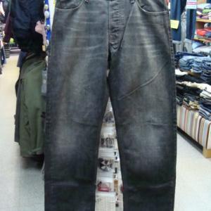 Armani Jeans アルマーニ ジーンズ ジーンズ デニムパンツ 黒 表記33・実寸32