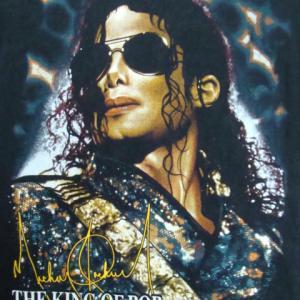 Michael Jackson マイケル・ジャクソン 半袖Tシャツ 黒 (M) 【ネコポス可能】