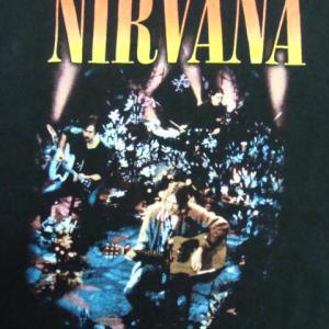 Nirvana ニルヴァーナ MTV Unplugged in New York Tシャツ S