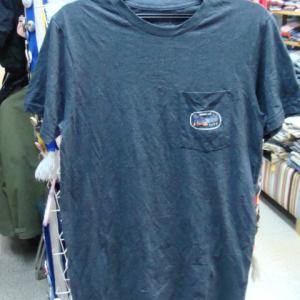 patagonia パタゴニア コットン×ポリ 胸ポケ 半袖Tシャツ (S・大きめ)