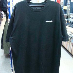 patagonia パタゴニア オーガニックコットン 半袖Tシャツ 黒 (XL・大きめ)