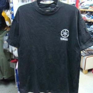 ヤマハ YAMAHA SR20周年 刺繍ロゴ 半袖Tシャツ 黒 (サイズ不明)