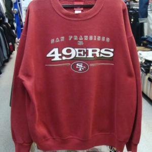 90sヴィンテージ NFL サンフランシスコ・49ers 50/50 トレーナー (L)