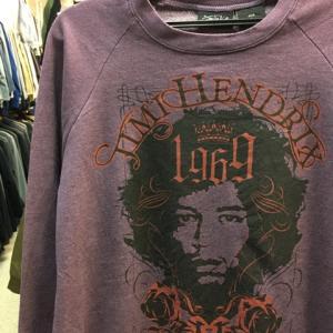 Jimi Hendrix ジミーヘンドリックス 1969 スウェット トレーナー パープル L