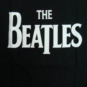 【未使用品】 The Beatles ザ・ビートルズ 長袖Tシャツ 黒 (L)