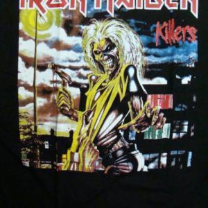 【未使用品】 Iron Maiden アイアン・メイデン 長袖Tシャツ 黒 (L)