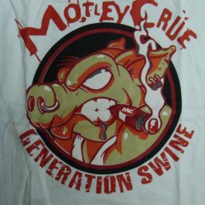 【未使用品】 MOTLEY CRUE モトリー・クルー ラグランTシャツ (S)