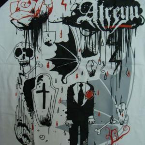 【未使用品】 Atreyu アトレイユ ラグランTシャツ (S)