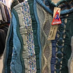 未使用タグ付 オーストラリア製 Jacques Journee 立体 セーター クージー風 S