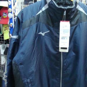 【未使用品】 MIZUNO ミズノ ブレスサーモ 中綿ジャケット 紺×黒 (M)
