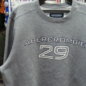 Abercrombie & Fitch Gym Issue 裏起毛 トレーナー スウェット XL