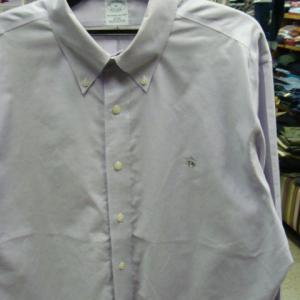 Brooks Brothers ブルックスブラザーズ コットン 長袖BDシャツ 水色 (XL)