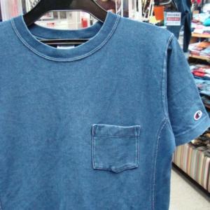 チャンピオン Champion リバースウィーブ 半袖Tシャツ ネイビー (M)
