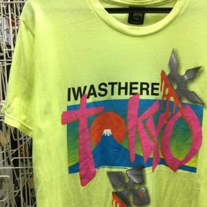 2014年 STUSSY BOARD of TOURISM 東京 富士 手裏剣 Tシャツ 黄 S