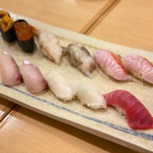 京都駅で食べる江戸前寿司、築地清寿司