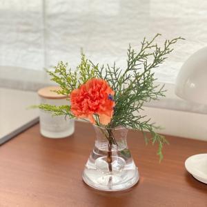 夏のお花のサブスク、ポストに投函された結果
