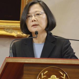 【台湾】総統選、蔡氏が優勢 対中警戒感追い風に