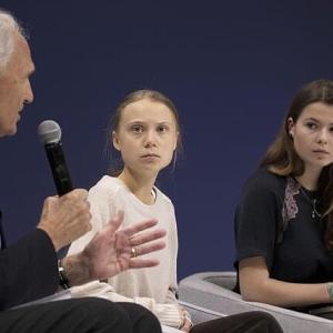 【共同通信】環境活動家グレタさん、ブラジル大統領の子供じみた批判にも大人の対応をしました