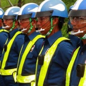 【琉球新報】警備員が小型カメラ 辺野古ゲート前「市民を監視する行為は違法で、人権侵害だ」