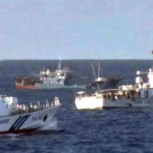 「日本に止める資格ない」中国、漁船群の尖閣領海侵入を予告