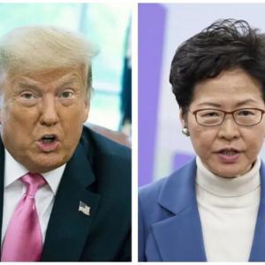 トランプ政権、香港政府トップら11人に制裁 中国側は対抗措置か