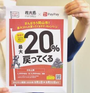 PayPay地域還元キャンペーン 財源は税金