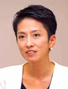 蓮舫氏、菅首相への口撃を反省「想いが強すぎて語気を張ってしまう」