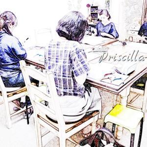 カラーワイヤクラフト・インストラクター養成講座最終日