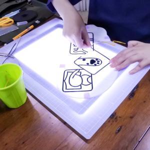 グラスアート教室・可愛いオリジナルの猫ちゃんデザイン
