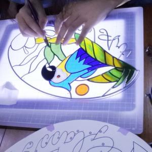 グラスアート教室とカリグラフィー・インクの寿命ってある?