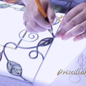 グラスアート教室・基本道具はこまめにチェック!