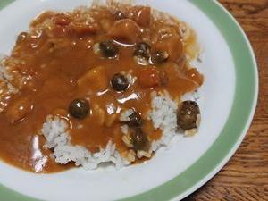 ムカゴご飯&カレー!