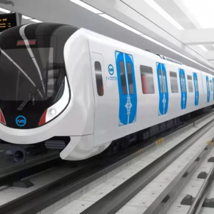 内モンゴル初の地下鉄 フフホトメトロ1号線が試運転しました