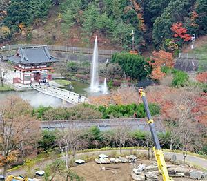 勝尾寺のさくら