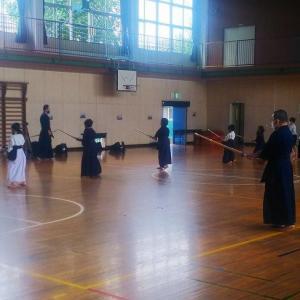 令和2年9月26~27日(土~日)市川市大野剣友会 子供達との地稽古は楽しい!