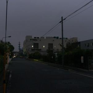 朝ジョグ:工業団地周回(10/16 4.4km 23min)
