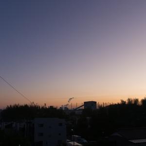 朝ジョグ:工業団地(10/30 5.7km 28min)
