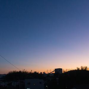 朝ジョグ:工業団地周回(11/12 5.6km 27min)