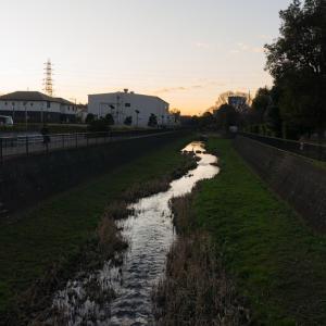 朝ジョグ:遊歩道周回(2/18 4.9km 23min)