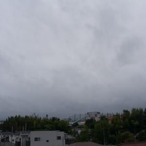 朝ジョグ:工業団地周回x6(9/1 10km 49min)