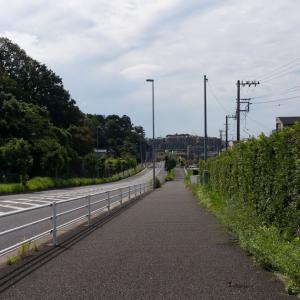 工業団地~弥生台~緑園都市(9/22 10km 52min)