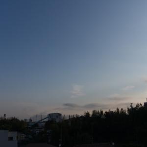 朝ジョグ:工業団地周回x6(11/27 9.9km 47min)