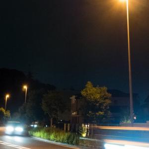 夜ジョグ:こども自然公園(6/22 9.3km 44min)