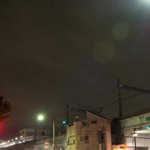 夜ジョグ:弥生台~いずみ中央~踊場(6/23 11.3km 52min)