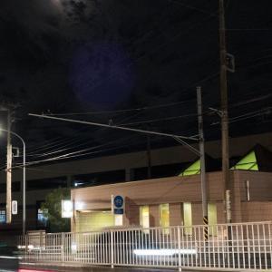 夜ジョグ:工業団地~踊場~アザリエ団地(8/20 7.2km 35min)