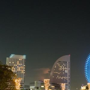 夜練:桜木町 with スニーカー(8/30 27.1km 65min)